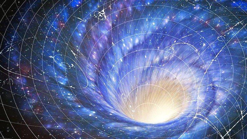 Возможны ли путешествия во времени? Имея достаточно большую червоточину, например, созданную двумя сверхмассивными черными дырами (положительных и отрицательных масс и энергий), мы могли бы попытаться