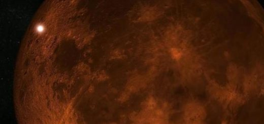 вспышка на луне