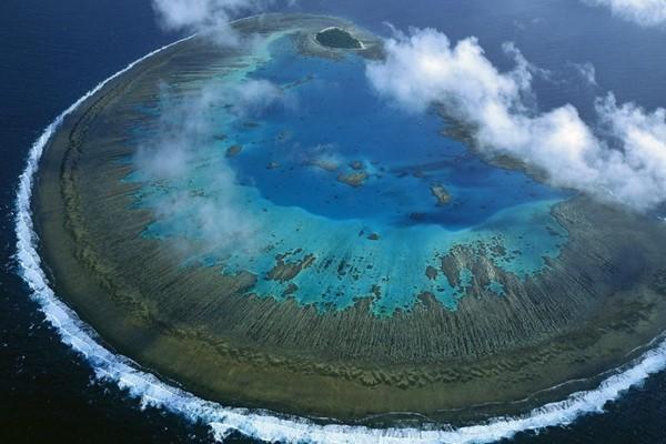 остров в Тихом океане