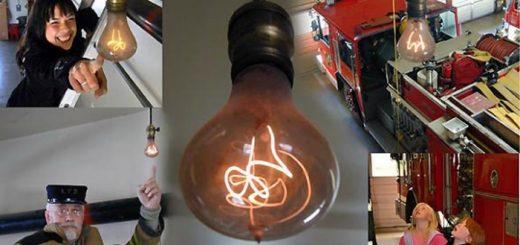 лампа, которая горит 100 лет