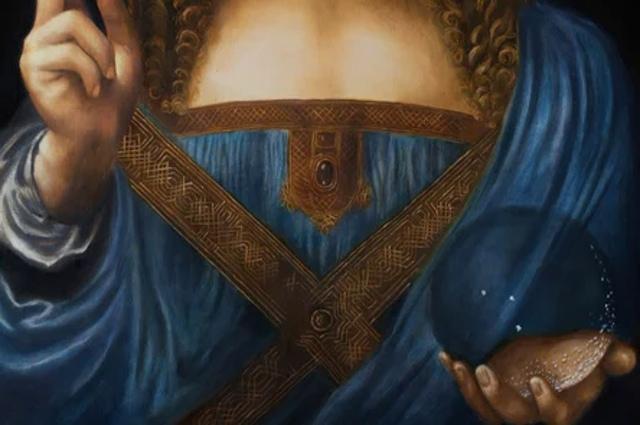 Загадочный шар на картине Леонардо да Винчи