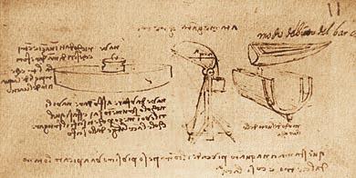 Лодка с двойной обшивкой и подводная лодка Леонардо да Винчи