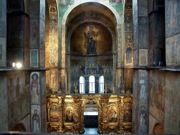 Зеркало в соборе святой Софии