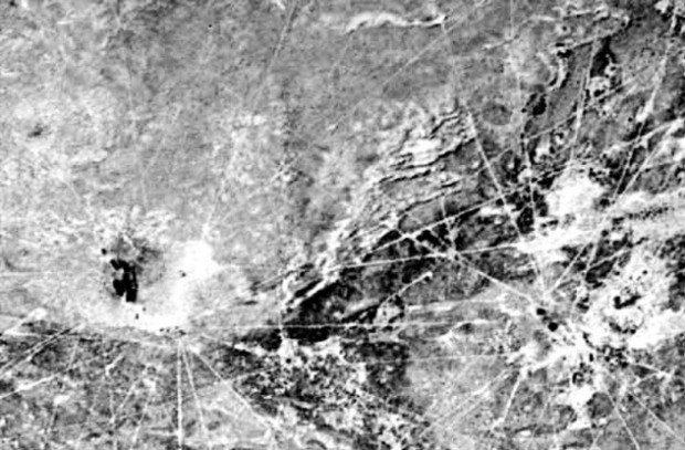 Геоглифы горы Саяма