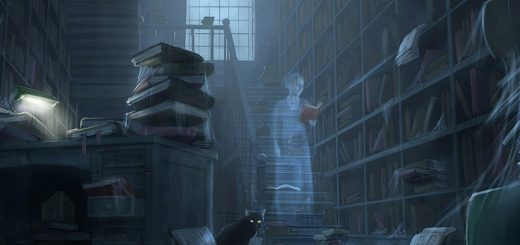 призрак в антикварном магазине