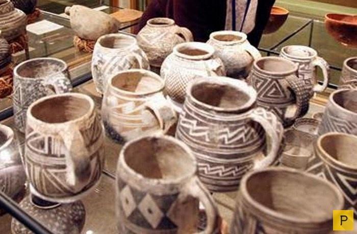 Индейские артефакты из Бландинга
