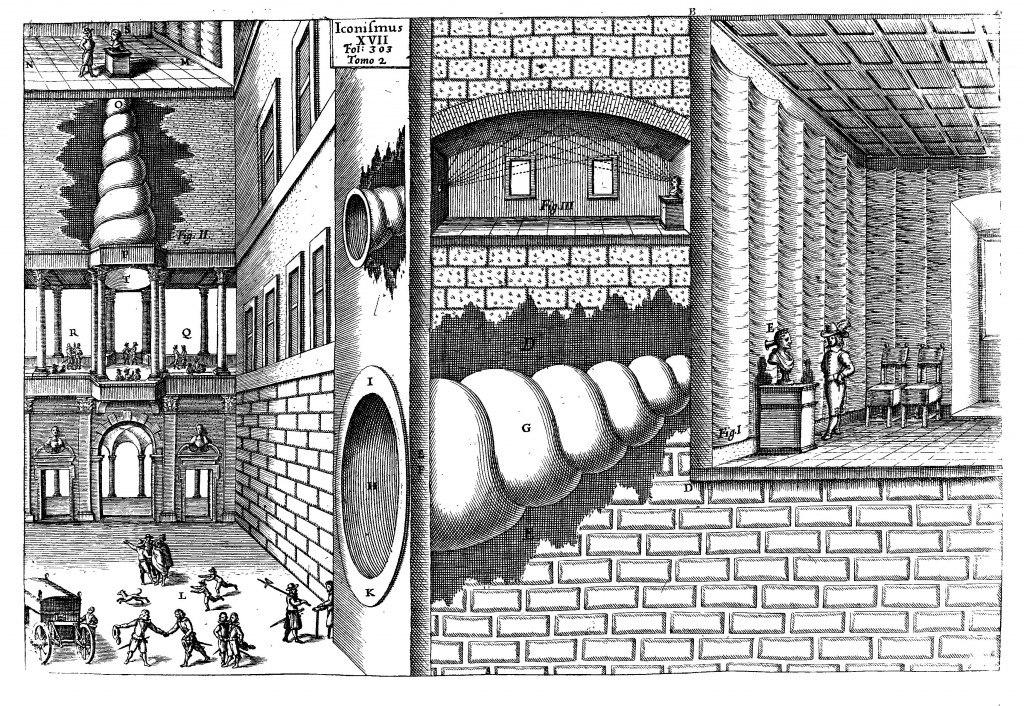 странные рисунки Афанасия Кирхера
