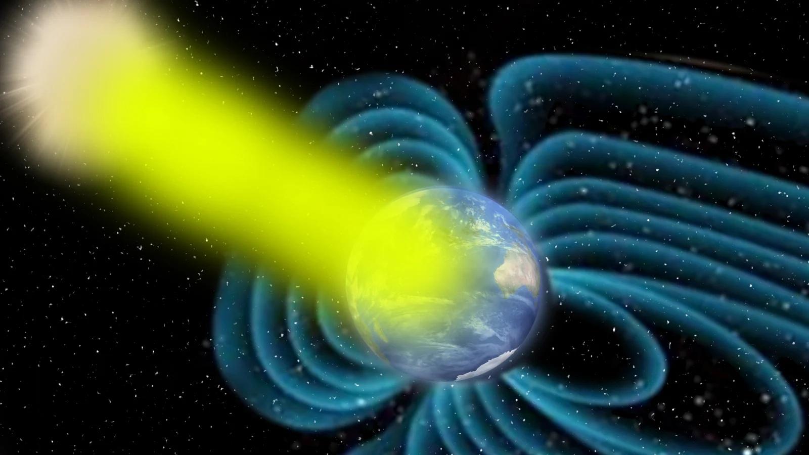 Высокоэнергетическая солнечная вспышка