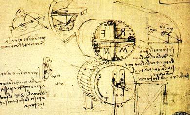 вентилятор Леонардо да Винчи