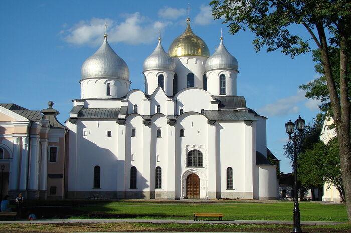 Софийский собор с Новгороде