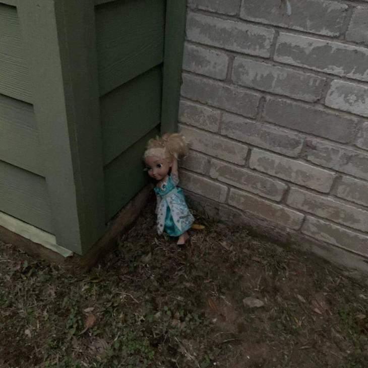 куклы в виде принцессы Эльзы