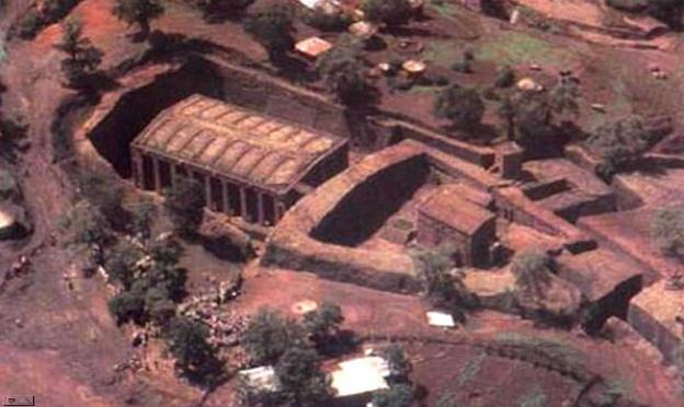 храм Лалибэла. Эфиопия