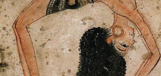 древний рисунок йога