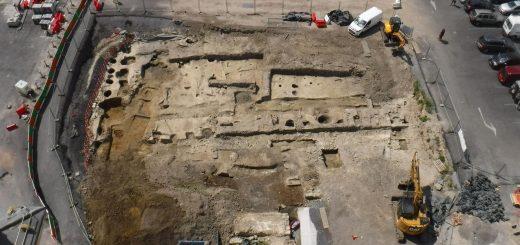 раскопки королевской резиденции