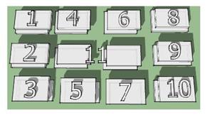 Рис. 1. Конструкционно-композиционный ряд