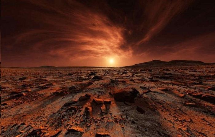 Уфологи заметили на поверхности Марса египетские «иероглифы»
