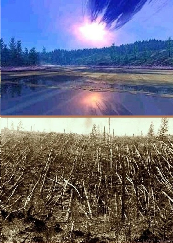 последствия падения тунгусского метеорита