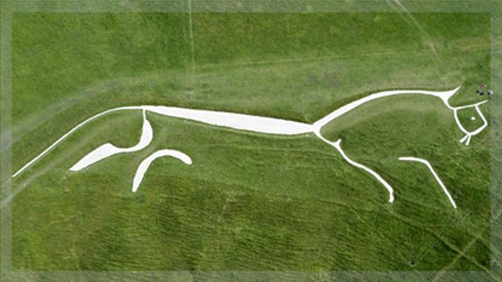фигура Уффинготской лошади